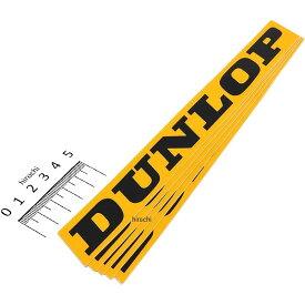 【USA在庫あり】 ファクトリーFX FACTORY EFFEX ロゴステッカー DUNLOP 黄色 220mm (5枚入り) FX04-2669 JP店