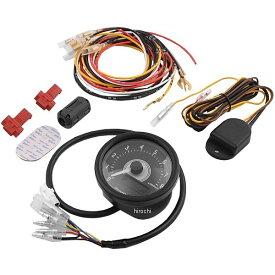 【メーカー在庫あり】 デイトナ ヴェローナ 電気式タコメーター 8000rpm 汎用 黒/白 LED 92253 JP店