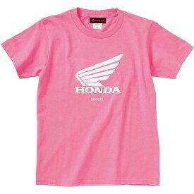 ホンダ純正 ウイングTシャツ ピンク 130サイズ 0SYTN-W57-J JP店