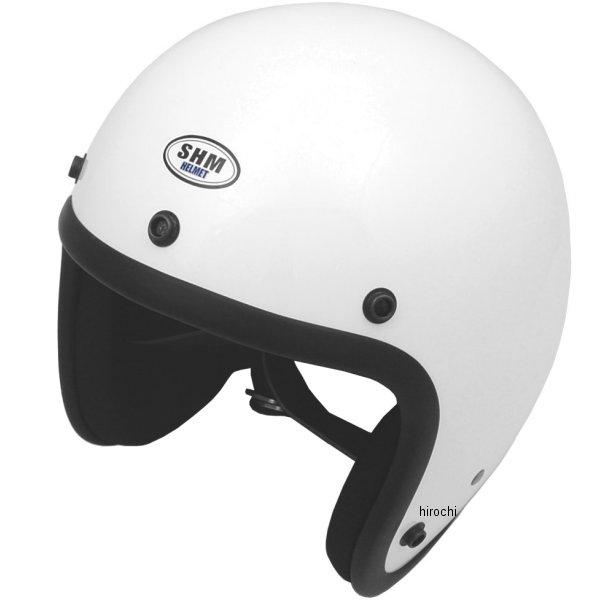 4955004061563 タチバナ SHM ヘルメット 1960 プレーンジェット 白 Lサイズ