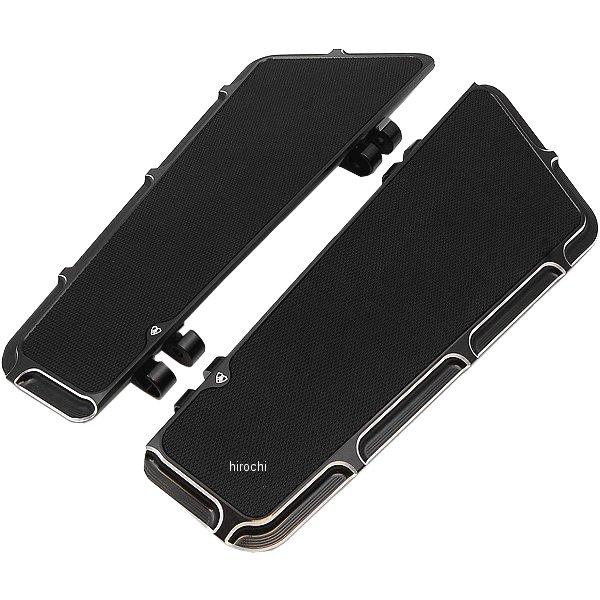 【USA在庫あり】 1621-0495 15-410 アレンネス Arlen Ness ベベル フュージョン ライダー フットボード 黒
