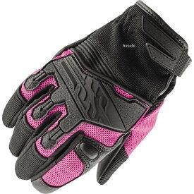 【USA在庫あり】 スピードアンドストレングス レザー/メッシュグローブ 女性用 Backlash ピンク WXLサイズ 872971 JP店