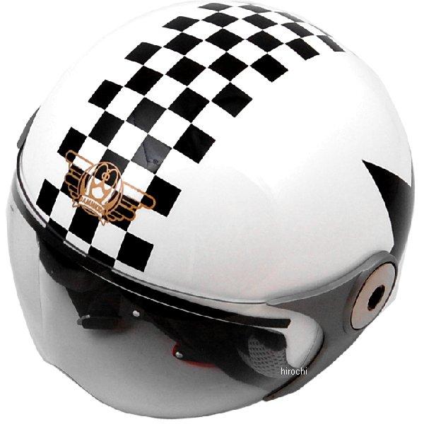 ダムトラックス DAMMTRAX ヘルメット POPO GT 子供用 白/スター キッズサイズ(54cm-56cm) 4582190320688 JP店