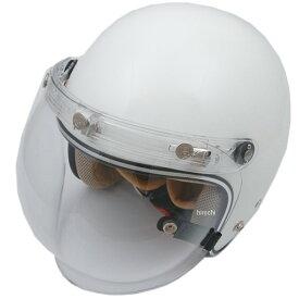 【メーカー在庫あり】 ダムトラックス DAMMTRAX ヘルメット フラッパー JET NEXT 女性用 パールホワイト レディースサイズ(57cm-58cm) 4580184000103 JP店