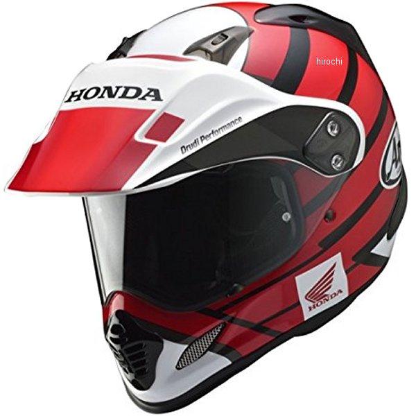 0SHGK-RT1A-R ホンダ純正 HONDA×Arai フルフェイスヘルメット ツアークロス 赤 Lサイズ