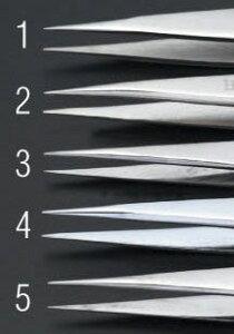 【メーカー在庫あり】 エスコ ESCO 0.3x115mm/ 00 精密用ピンセット(ステンレス製) 000012047011 JP店