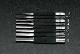 """【メーカー在庫あり】 エスコ ESCO 3.18mm (1/8"""") ドライブピンポンチ 000012057723 JP店"""
