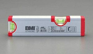 【メーカー在庫あり】 エスコ ESCO 200mm アルミ水平器(マグネット付) 000012048799 JP店