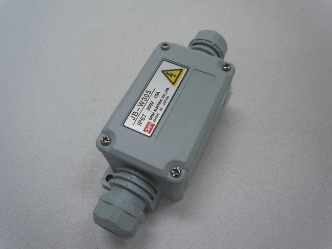 EA940CY-5G エスコ ESCO 5極 300V/15A 端子台付中継ボックス グレー