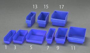 【メーカー在庫あり】 エスコ ESCO 105x300x150mm パーツトレー/ラック棚用(青) EA661DB-7 JP店