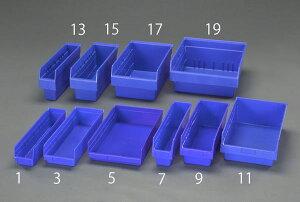 【メーカー在庫あり】 エスコ ESCO 105x450x150mm パーツトレー/ラック棚用(青) EA661DC-7 JP店