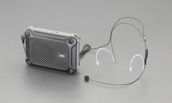 【メーカー在庫あり】 EA763CJ-8 エスコ ESCO 防水型 ハンズフリー拡声器スピーカー