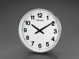 【メーカー在庫あり】 エスコ ESCO φ450mm 防雨 屋外用掛時計 EA798CC-95 JP店
