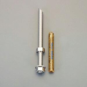 【メーカー在庫あり】 エスコ ESCO M12x140mm/SUS 寸切ボルト・ナット付ケミカルアンカー EA947AL-111 JP店