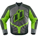 【USA在庫あり】 2820-3111 アイコン ICON ジャケット オーバーロード2 緑 Sサイズ