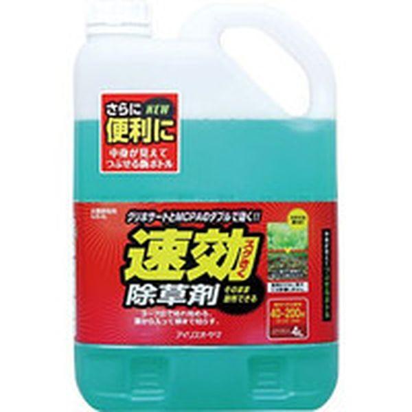 【メーカー在庫あり】 SJS4L 414-2195 アイリスオーヤマ(株) IRIS 速効除草剤 4L