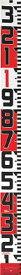 【メーカー在庫あり】 (株)TJMデザイン タジマ シムロンロッド-100長さ 10m/裏面仕様 1mアカシロ/紙函 SYR-10EK JP