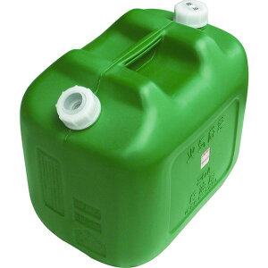 【メーカー在庫あり】 KY20W 土井金属化成(株) ヒシエス 軽油缶 20Lワイド グリーン KY-20W JP店