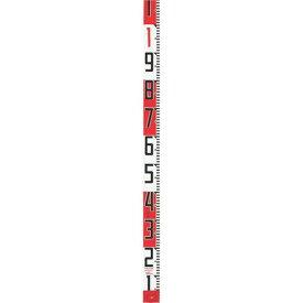【メーカー在庫あり】 (株)TJMデザイン タジマ シムロンロッド長さ 2m/裏面仕様 20cmアカシロ/紙函 SYR-02P JP