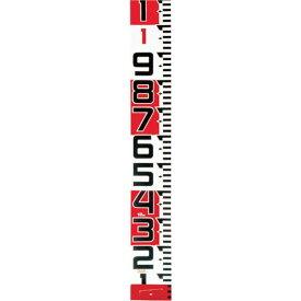 【メーカー在庫あり】 (株)TJMデザイン タジマ シムロンロッド-150長さ 10m/裏面仕様 1mアカシロ/紙函 SYR-10TK JP