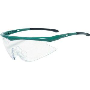 【メーカー在庫あり】 トラスコ中山(株) TRUSCO 一眼型安全メガネ フレームグリーン レンズクリア TSG-1856GR JP