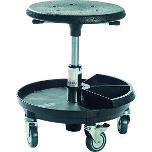 【メーカー在庫あり】 Global SIGMA 400P 工具トレー付作業チェア 樹脂製ベース 座高37〜50cm 2030013000 JP店