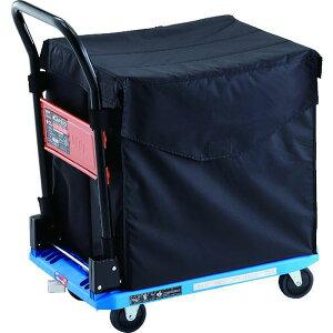 【メーカー在庫あり】 TRUSCO 樹脂台車 カルティオ CHBハンドトラックボックス付 樹脂ストッパー付 ブルー MPK-720-B-JS-CHB JP店
