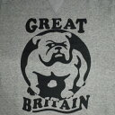 オリジナルJOHNSWEAT JUMPER-BULLDOG-GREY/NATURAL