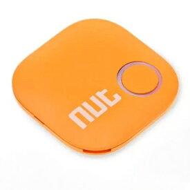 新型 無線 探し物発見器 《オレンジ 》 Bluetooth キーファインダー スマートタグ トラッキングタグ 落し物 忘れ物[定形外郵便、送料無料、代引不可]