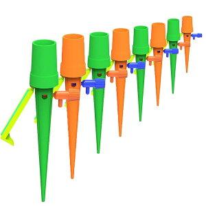 庭用 自動給水装置 12個セット 自動散水 自動水やり器 ガーデニング[定形外郵便、送料無料、代引不可]