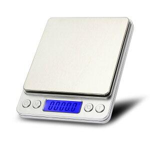 デジタルスケール 0.1g単位3kgまで 風袋機能 個数計算機能 計量器 電子秤 電子はかり[送料無料(一部地域を除く)]