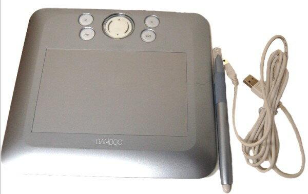 [中古品]ワコム ペンタブレット CTE-450/S4 本体+USBケーブル+ペン[メール便発送、送料無料、代引不可][その他PC]【中古】