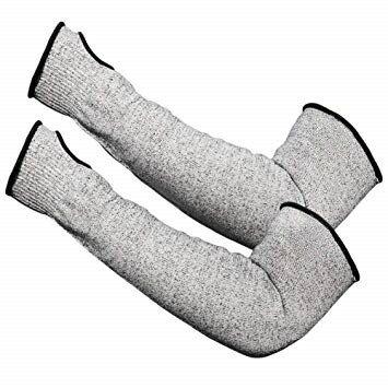 切れない手袋 防刃アームカバー 左右セット[定形外郵便、送料無料、代引不可]