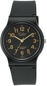 シチズン キューアンドキュー/CITIZEN Q&Q 腕時計 Falcon(フォルコン) アナログ 10BAR ブラック×ゴールド VP46-853 [バレンタイン][時計][ギフト][定形外郵便、送料無料、代引不可]