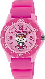 シチズン キューアンドキュー/CITIZEN Q&Q 腕時計 Hello Kitty (ハローキティ) アナログ 10BAR ピンク VQ75-230 レディース[バレンタイン][時計][ギフト] [定形外郵便、送料無料、代引不可]