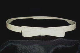高品質完全日本製 二重織ダブルジョーゼット リボン ベルトカラー ライトベージュ ベージュ 謝恩価格品