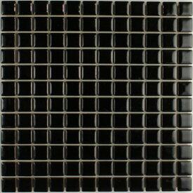 デイハピー 23mm角丸タイル 黒色 D−10