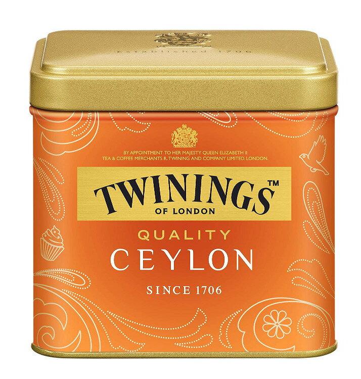 トワイニング 紅茶 クオリティ セイロン 100g