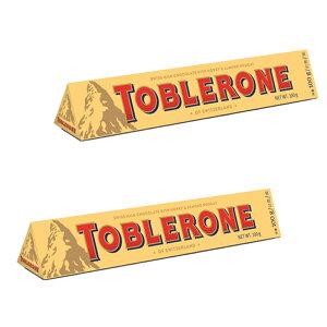 トブラローネ ミルク 100g 2本セット スイスチョコレート 送料込み クール便 輸入チョコレート