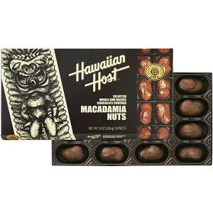 送料無料 ハワイ お土産 ハワイアンホスト マカダミアナッツ チョコレート 226g(8oz 16粒) ×2箱セット HawaiianHost ハワイアンホースト マカデミアナッツ 海外 輸入菓子 クール便