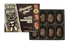 ハワイ お土産 ハワイアンホスト マカダミアナッツ チョコレート 4oz 8粒 HawaiianHost ハワイアンホースト マカデミアナッツ 海外 輸入菓子