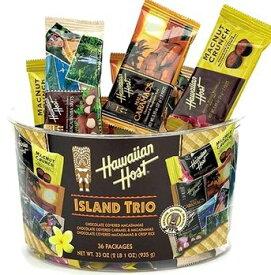 送料無料 ハワイアンホスト アイランドトリオ 30.6oz(36袋) ハワイ お土産 ハワイアンホースト