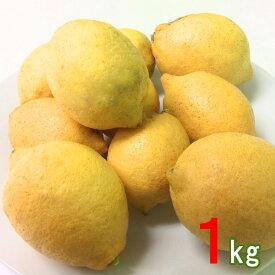 数量限定 産地直送 中台農園 広島 大長産 レモン 1kg広島産レモン 国産レモン なかだい農園