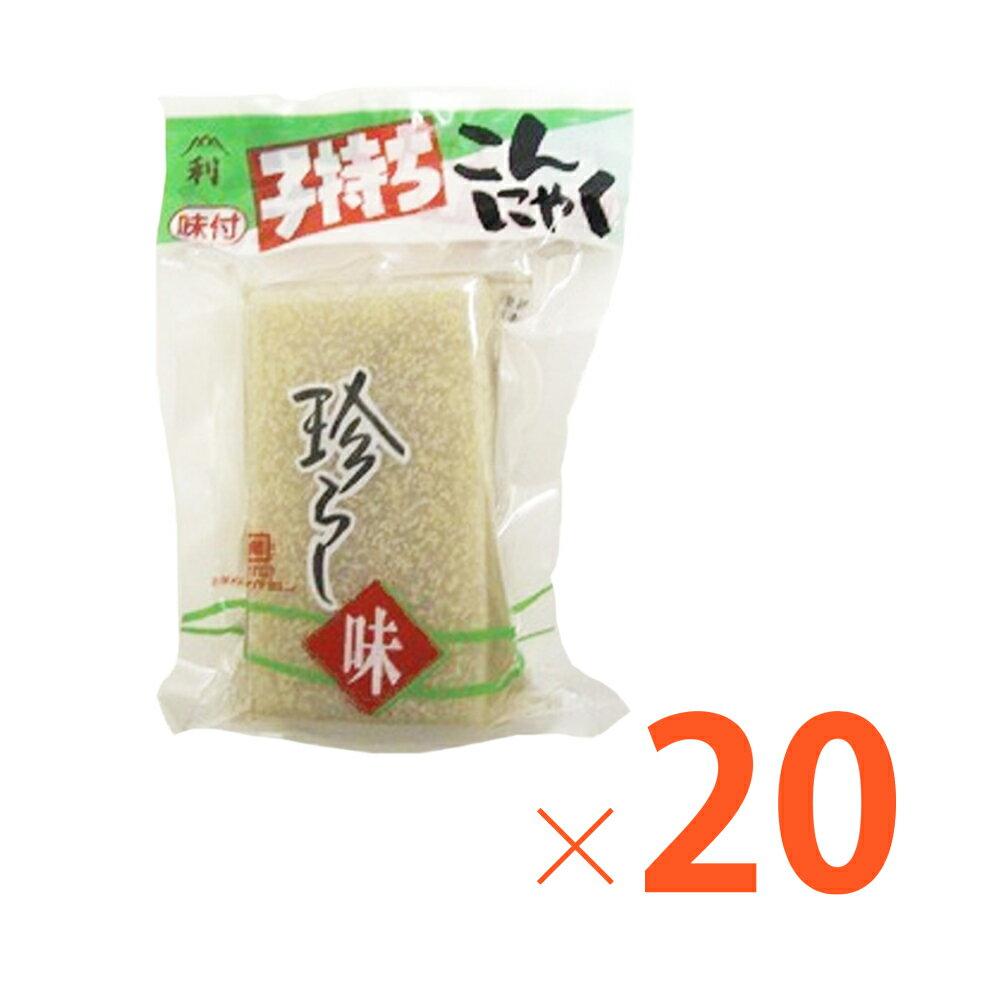 広島産 刺身こんにゃく 絶品 子持ちこんにゃく (190g)×20個セット 藤利食品