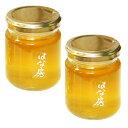 養蜂園直送 広島県産 はちみつ 高原花房 (瓶入り) 2本セット 300g×2 国産 蜂蜜 100% 花房養蜂園