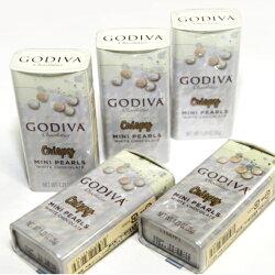 GODIVA(ゴディバ)パールクリスピーホワイト35g×5箱手提げ袋付