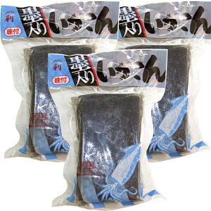 広島産 刺身こんにゃく 絶品 イカスミ こんにゃく (200g)×3個セット 藤利食品