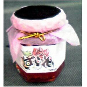 万汐農園 バラの花ジャム(赤) 120g
