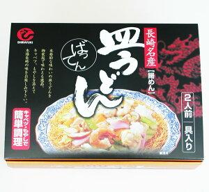 長崎ちゃんぽん 長崎名物 ばってん皿うどん 2食入り 具材入特製あんかけスープ付き