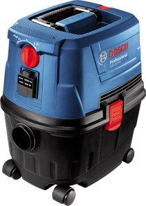 ボッシュ(BOSCH) GAS10PS 集じん機 乾湿両用 ブロワ機能 5mコード フィルター清掃スイッチ 電動工具用連動コンセント付き